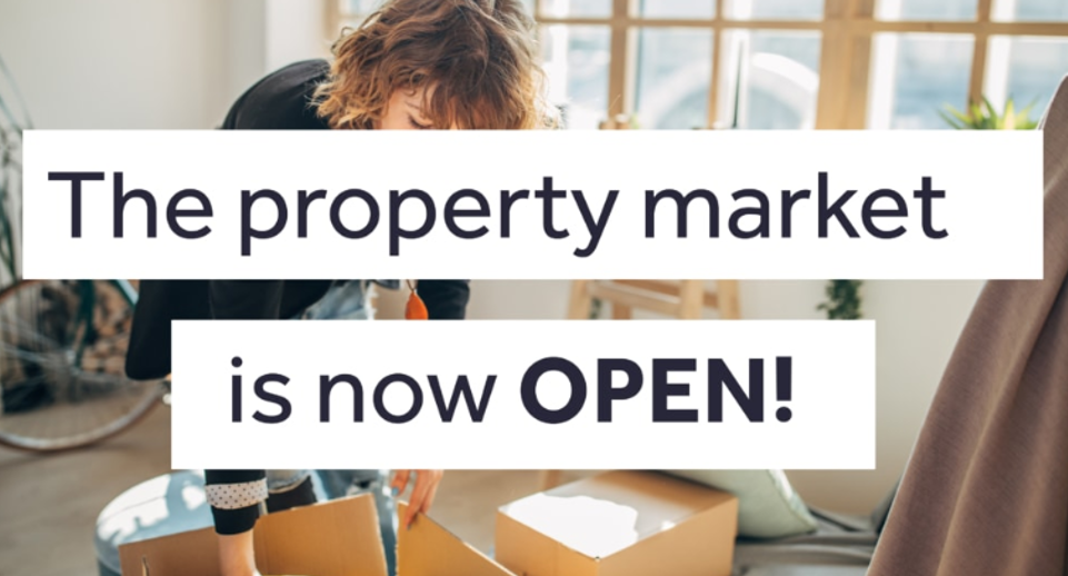 rightmove - property market is open